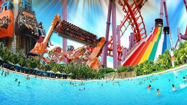 ท่องเที่ยว สวนสยามทะเลกรุงเทพฯ จังหวัดกรุงเทพมหานคร