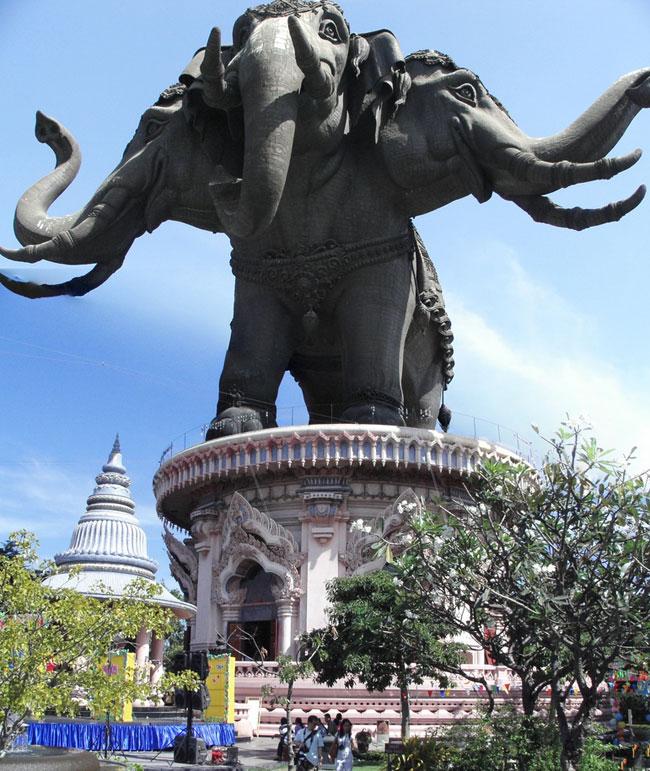 เข้าชม...พิพิธภัณฑ์ช้างเอราวัณ กลางแจ้ง จังหวัดสมุทรปราการ